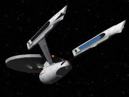 Enterprise Refit by thefirstfleet