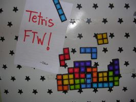 Tetris Magnets by Tiffyx