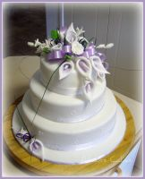 Chanel's wedding cake by EmbracerOfLife