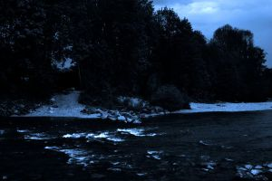 Dark River Background by Limited-Vision-Stock
