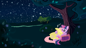 Sleeping Fluttershy by NadyaD