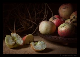 September Apples by Lestrovoy