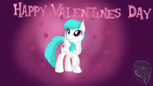 Cotton Heart wish you a happy valentine's day by AlejaMoreno-Brony