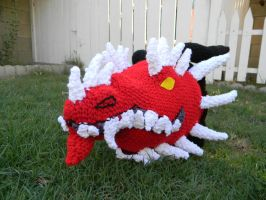 inferno head 3/4 view by gwilly-crochet