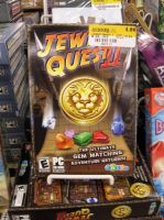 Misplaced pricetag: Jew Quest by emma08799
