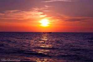 A Perfect Mediterranean Sunset (2) by BlueLunarRose