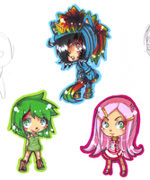 .: My Lovely Chibis Flump :. by NerinSerene