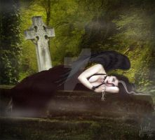 Where Dark Angels sleep by MADmoiselleMeli