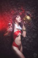 Vampirella cosplay by shproton