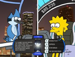 Mordecai vs Lisa in Million Second Quiz by DJgames