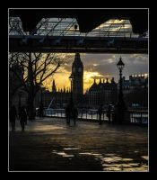 Westminister Dusk by Andy3E