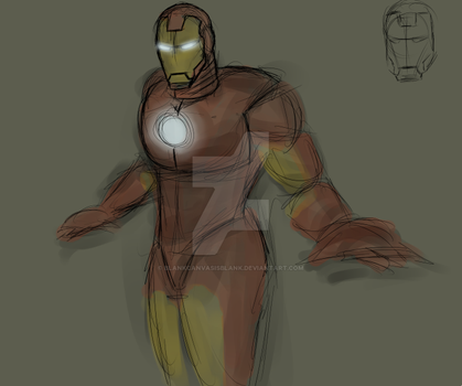 Iron Man (Yet another WIP xD) by BlankCanvasIsBlank