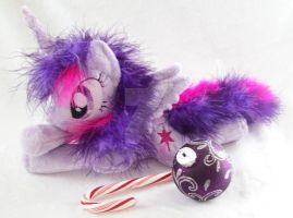 MLP Twilight Sparkle Plush Beanie/Pocket Sized by ponypassions