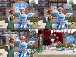 .:MMD FrozenPKMN Comic:. Do you wanna build a... by JackFrostOverland