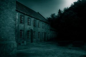 ..night at the old factory... by Espen-Alexander