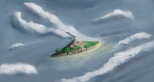 dream island by DClayne