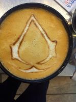 Assassin Order Latte by Coffee-Katie