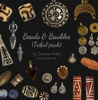 Beads and Baubles - Tribal pack by Majnouna