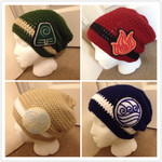 Update! New and improved 4 Elements beanies! by Raychull7