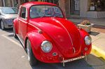 1968 Red Volkswagen by E-Davila-Photography