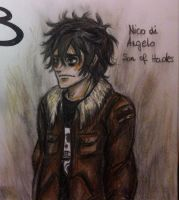 Nico di Angelo - Son of Hades by Reikma