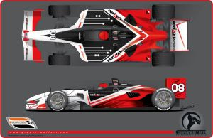 Verizon Champ car by graphicwolf