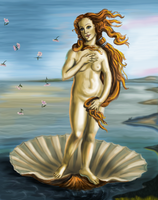 The Birth of Venus by SpiceChickNick