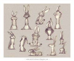Wabbits Wabbits by minitreehouse