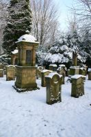 Winter cemetery stock 05 by Malleni-Stock