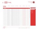 gmail [Modern UI] project concept by danielskrzypon