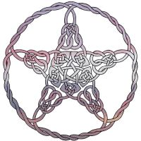 Celtic Pentacle II by Artistfire