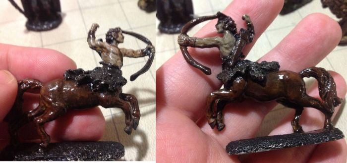 Centaur Miniature by Auruka-Sunshine