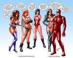 TLIID 219. Daredevil and the Bad Girls. by AxelMedellin