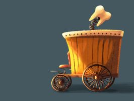 The Tooth Cart by GeniusBee