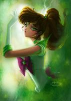 Sailor Jupiter by gabrielleandhita