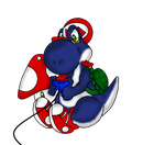 YouTuber's Yoshi by MuseofLullabys