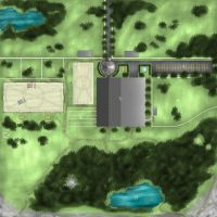 CandleWick Equine Facility Aerial Map by Nawaii