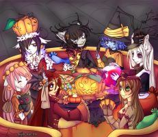 Happy Halloween by Kurohi-tyan