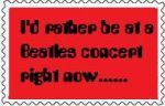 Beatles Concert Stamp by BeatlesBoy26