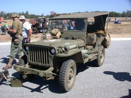 Stock WWII Jeep 2 by Daturaemo