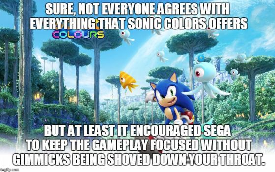 Sonic Colors (Thoughts in a Nutshell) by gameman5804