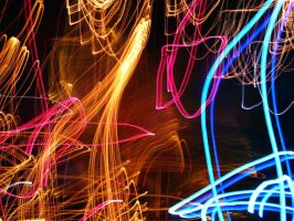 Lightpainting by alais-stock