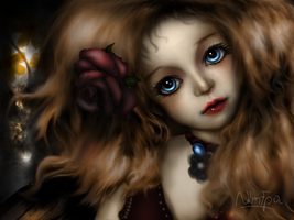 Ginger doll by NImFpa