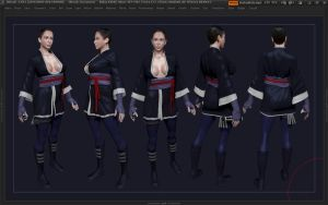 Tanake Trang WIP by Reyknow