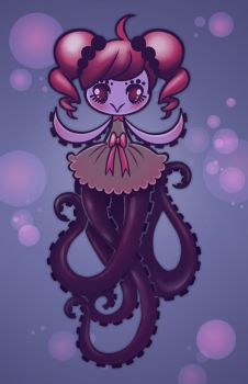 OctoGal by shadowbucket