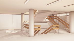 Staircase Interior by rojus