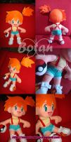 Misty Waterflower plush version by Momoiro-Botan