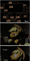Five Nights at Freddy's Related Pony Comic by Benno950