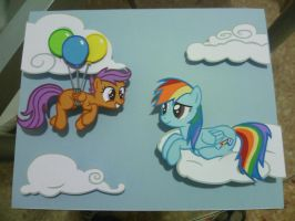 Papercraft - Your Number One Fan by JackOfMostTrades