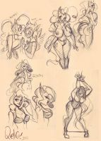 MLP scandal sketches by quelico